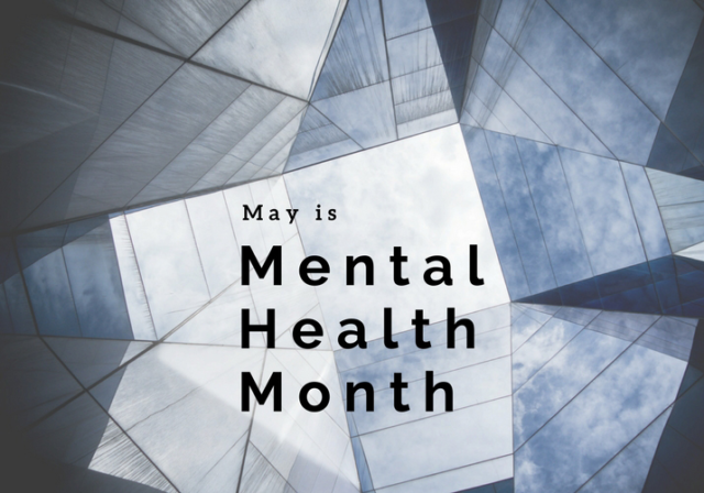 Graphic image for May is Mental Health Month