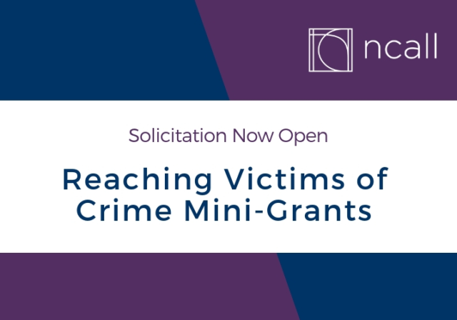 Graphic image for Reaching Victims of Crime Mini-Grants Solicitation